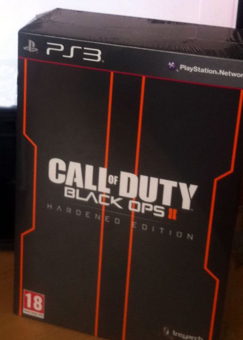 Black Ops 2 PS3 Hardened Edition Front